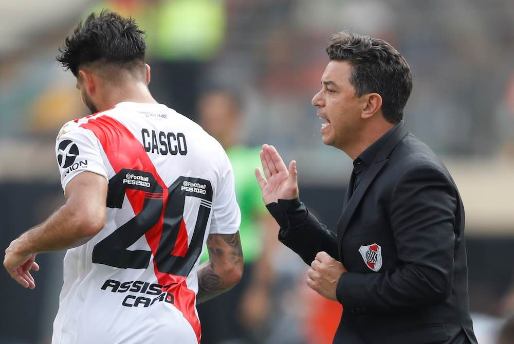 River Plate To Field Outfield Player In Goal And Start With 10 Men In Libertadores Clash