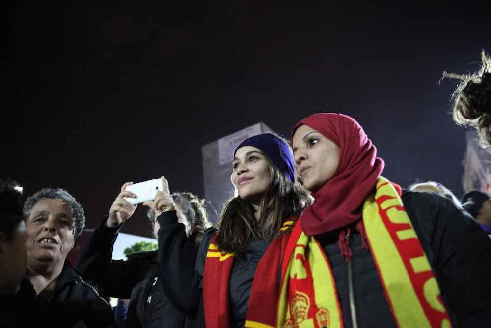 Female Football Fans Esperance Tunis Africa