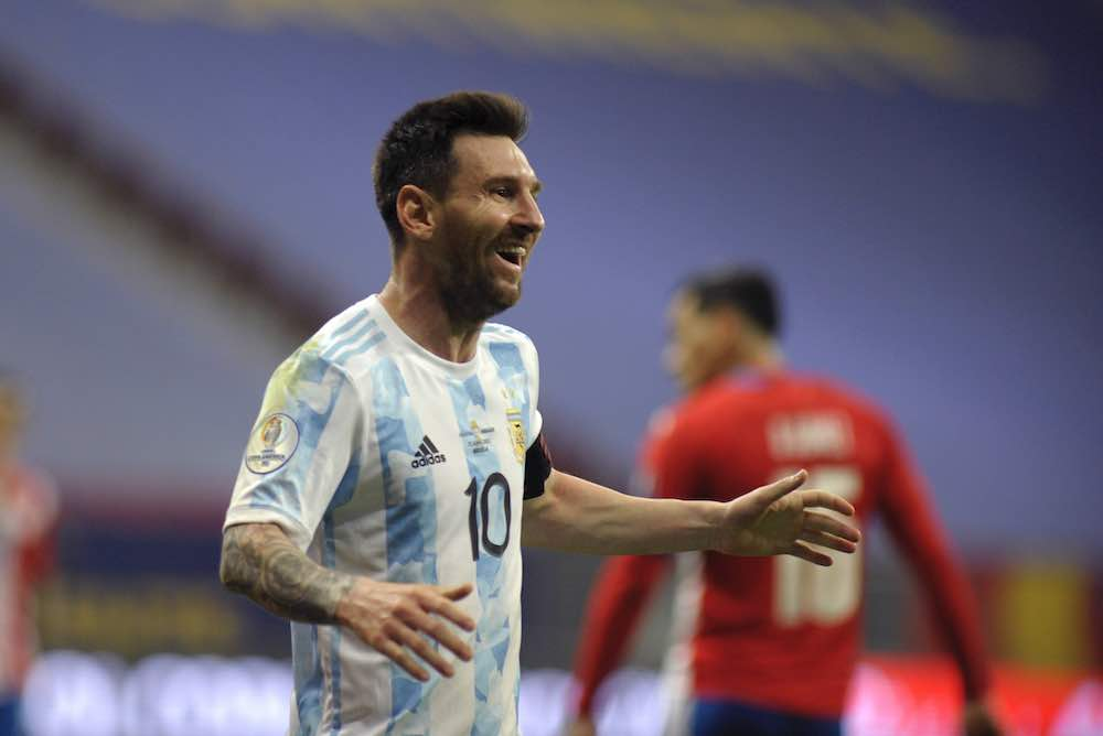 Lionel Messi Plays For Argentina And Moonlights With PSG