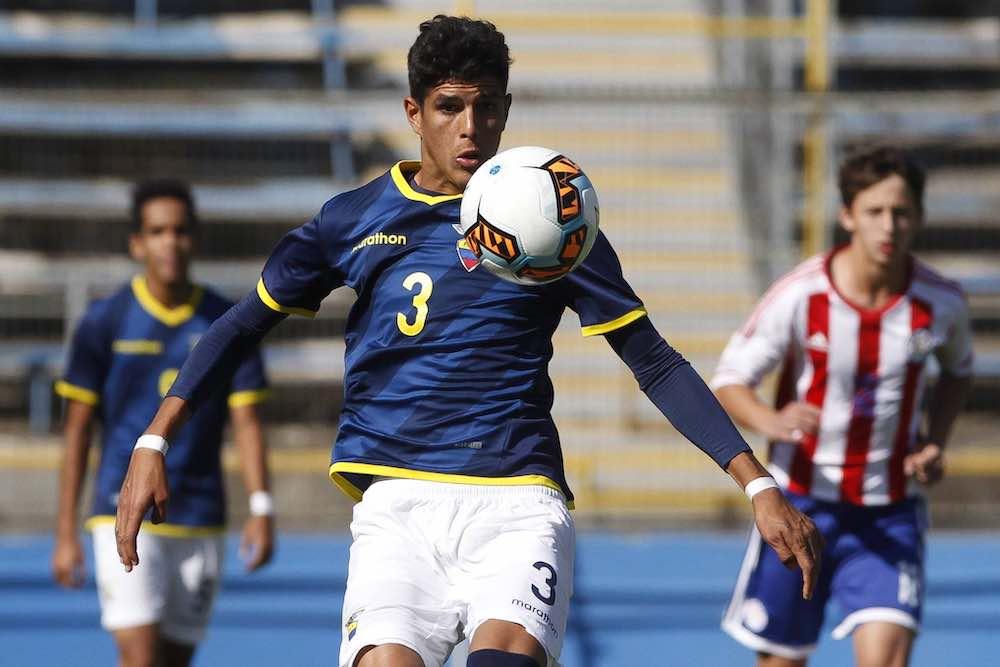 Piero Hincapie Ecuador u17