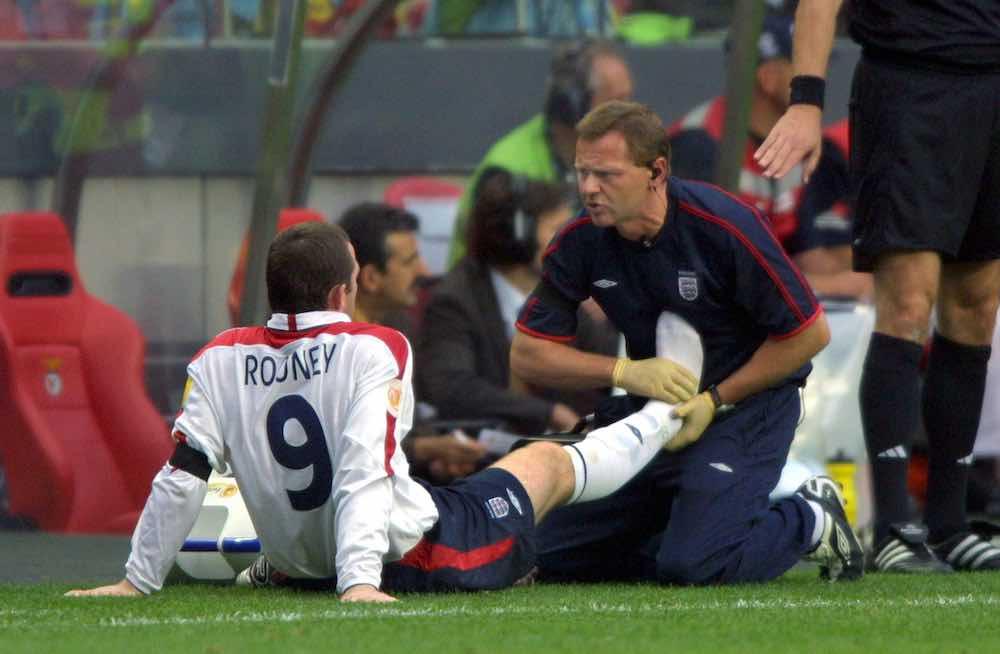 Gary Lewin England Rooney