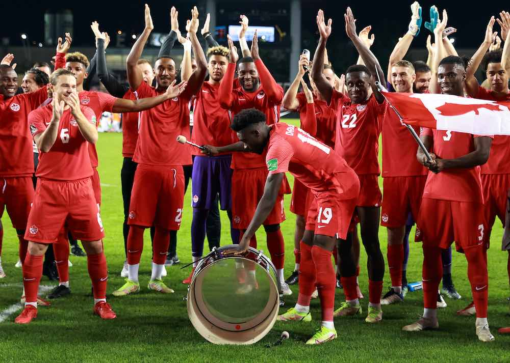 Alphonso Davies Leadership And Speed Seals Victory For Canada v Panama