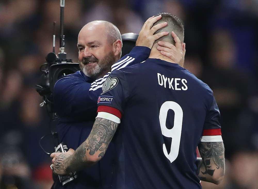 Steve Clarke Lyndon Dykes Scotland
